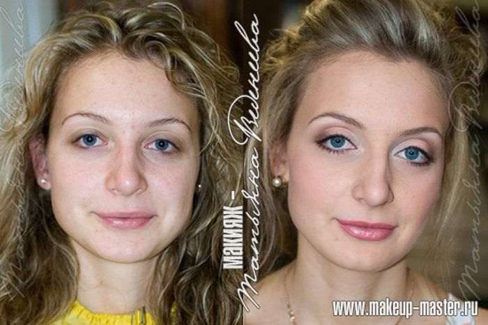 Russian Girls With And Without Makeup 42 Pics-8984