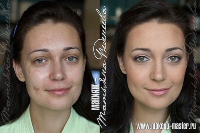 Russian Girls With And Without Makeup 42 Pics-5112