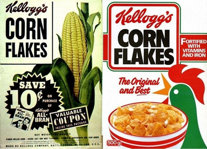 How Cereal Boxes Have Changed Over Time (15 pics)