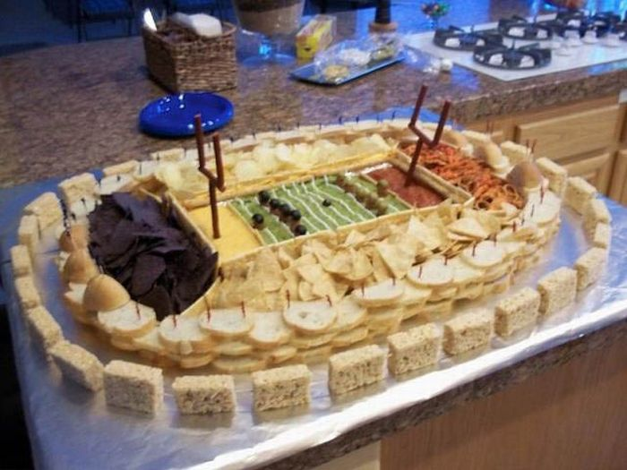 Super Bowl Food Stadiums (33 pics)