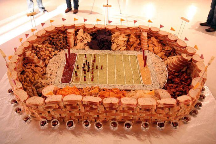 Super Bowl Food Stadiums (33 pics)
