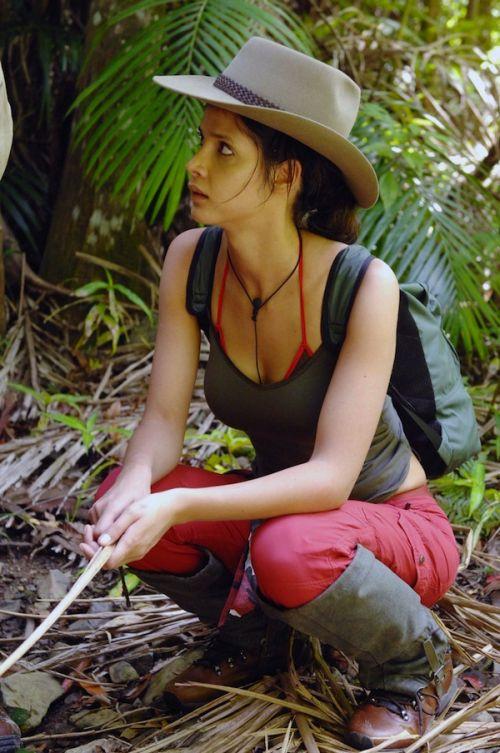 Micaela Schäfer of German Dschungelcamp (15 pics)