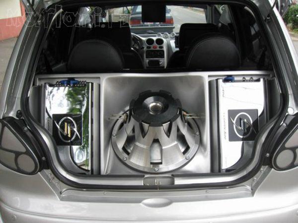 Romanian Tuning of Daewoo Matiz (7 pics)