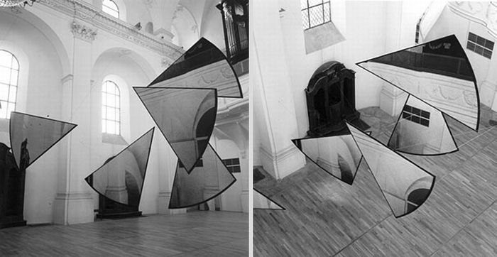Anamorphic Illusions by Felice Varini (34 pics)