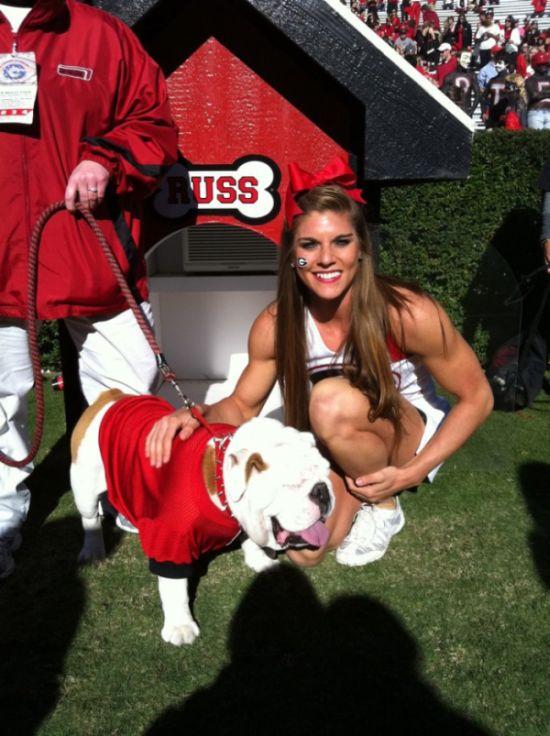 Georgia Cheerleader Anna Watson (16 pics)