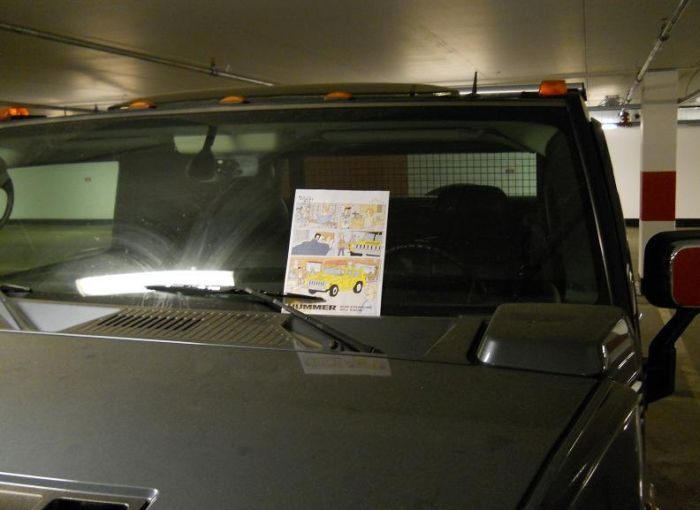 How to Troll Hummer H2 Driver (3 pics)