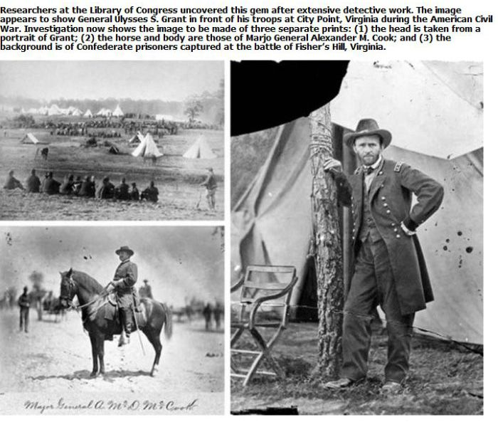 Historic Photographs That Were Actually Doctored (14 pics)