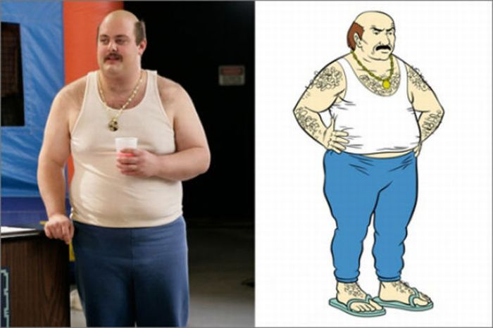 Real People Who Look Like Fictional Characters (22 pics)