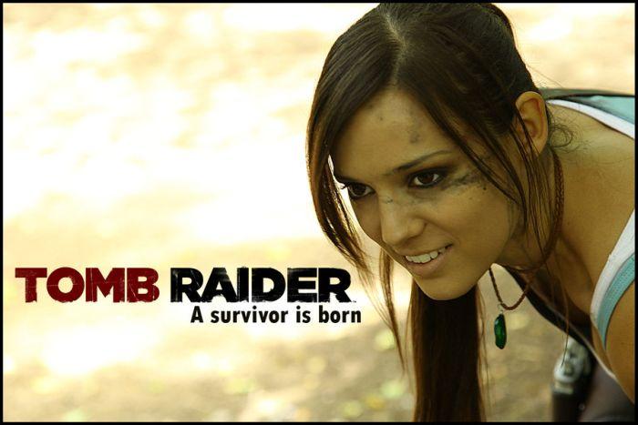 Beautiful Lara Croft Girl (16 pics)