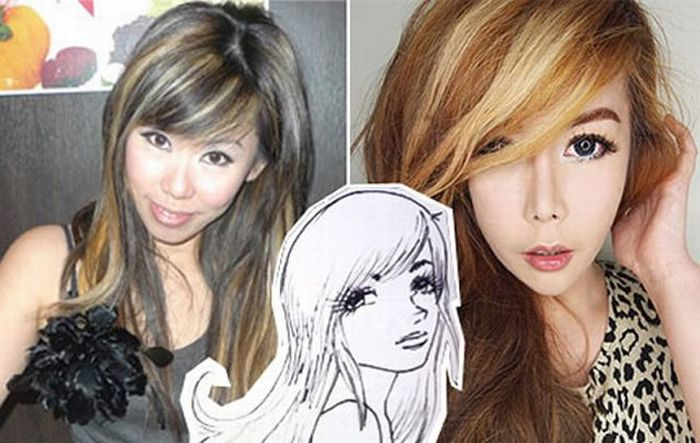 Woman Spends $136,000 to Become Anime Character (24 pics)