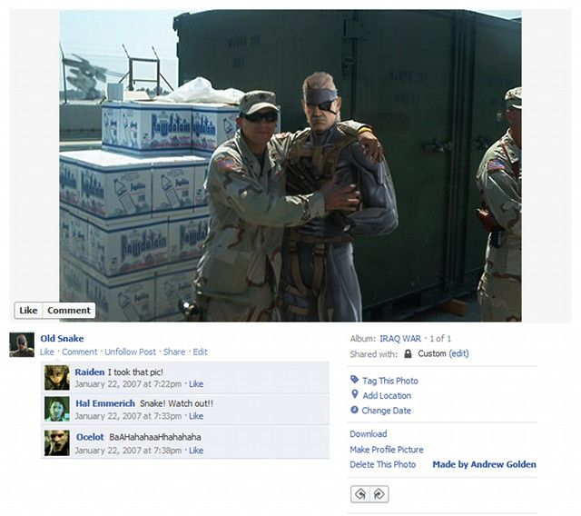 Game Characters on Facebook (9 pics)
