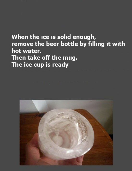 How to Make an Ice Cup (7 pics)