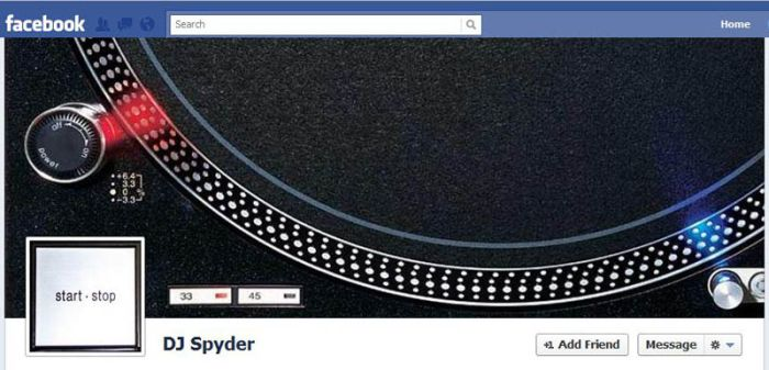 Creative Facebook Timelines (25 pics)