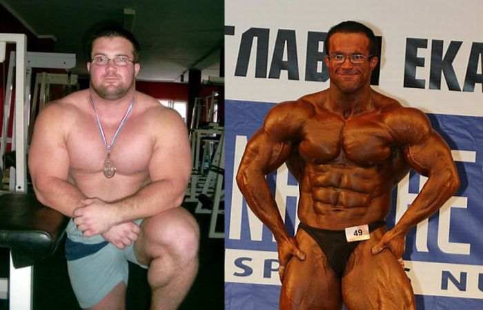 Muscle Men Before & After (19 pics)