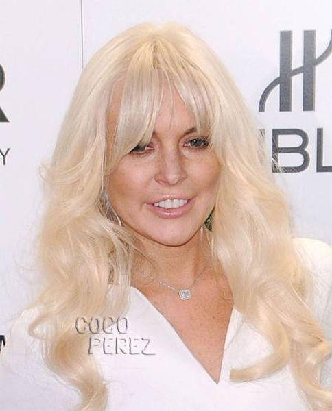 Lindsay Lohan Looks So Old (5 pics)