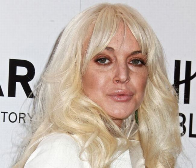 Lindsay Lohan Looks So Old (5 pics)