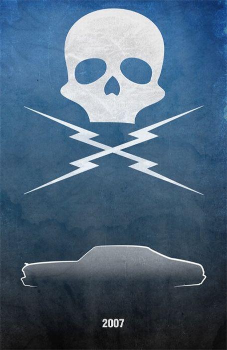 Movie Car Posters (56 pics)