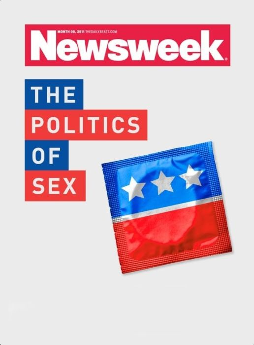"Rejected Newsweek ""Politics Of Sex"" Covers (10 pics)"