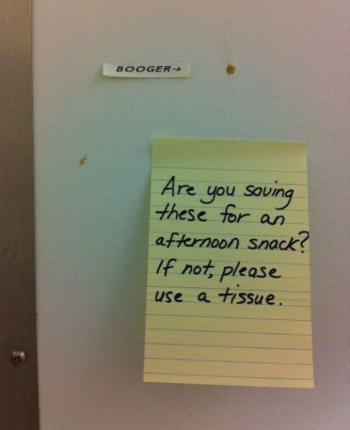 Passive Aggressive Notes (24 pics)