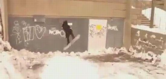 Funny Snowboarding WIN