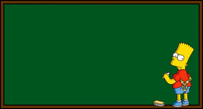 Every Bart Simpson Chalkboard Quote Ever (1 pic)