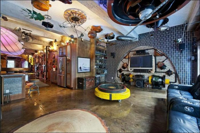 Steampunk Apartment in New York (8 pics)