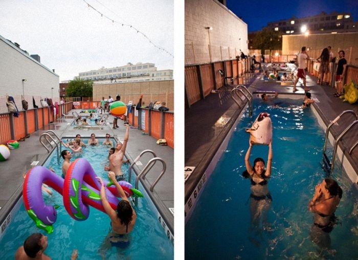 Dumpster Swimming Pools (13 pics)