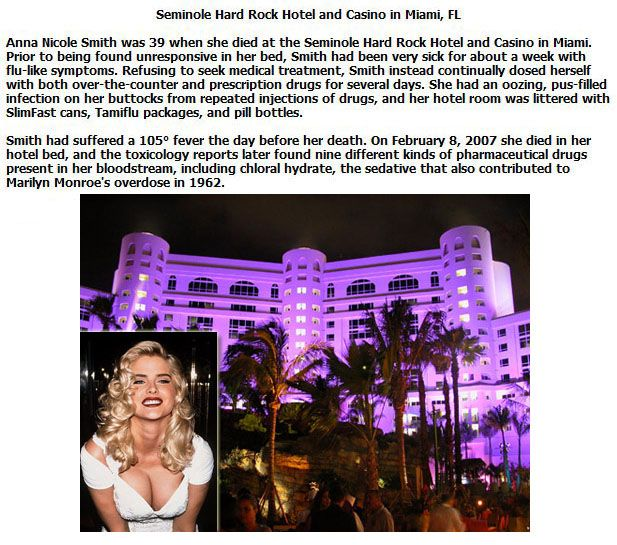 Hotels Where Famous People Have Died (10 pics)