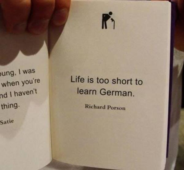 "Funniest ""Life's too short"" Quotes (12 pics)"