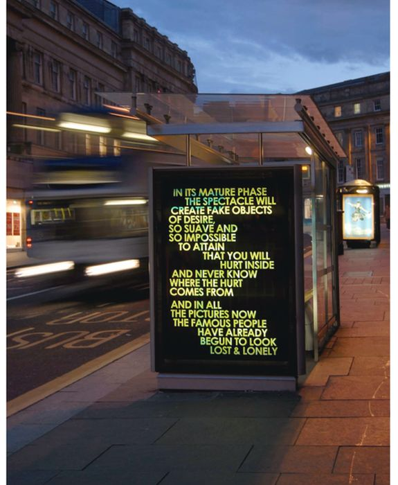 Poems on Billboards by Robert Montgomery (20 pics)