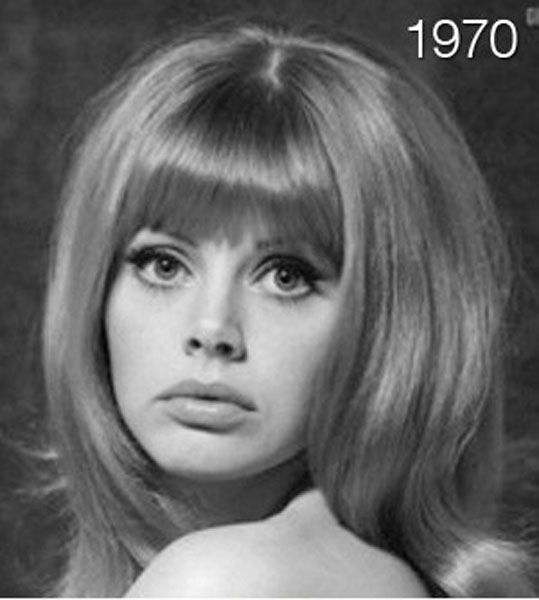 Evolution of Women's Hair (11 pics)