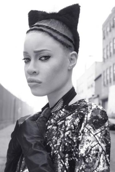 Diandra Forrest – Afro-American Albino Model (7 pics)