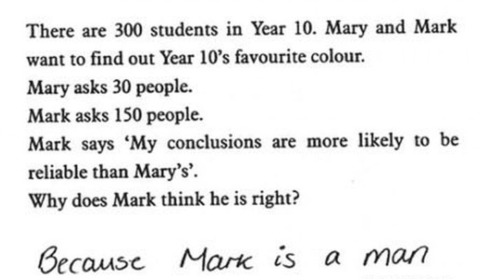 Funny Exam Answers. Part 6 (23 pics)