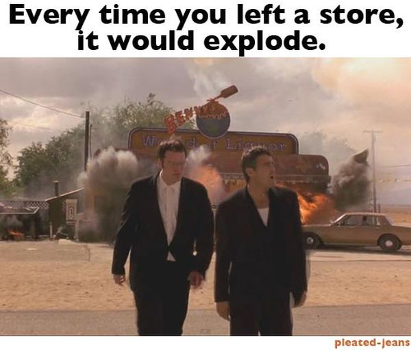 If Life Was Like an Action Movie (13 pics)