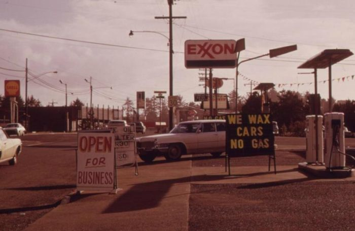 The USA During the 1973 Oil Crisis (21 pics)
