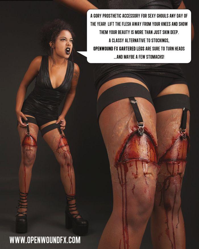 Gartered Legs Prosthetics (4 pics)