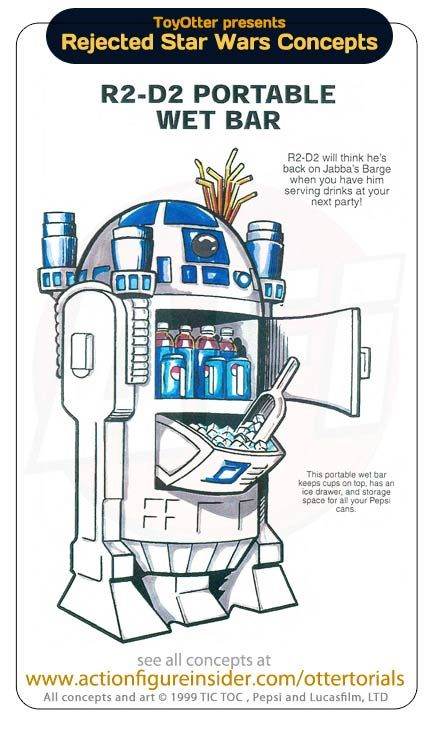 Hilarious Star Wars Rejected Toys Concepts (24 pics)