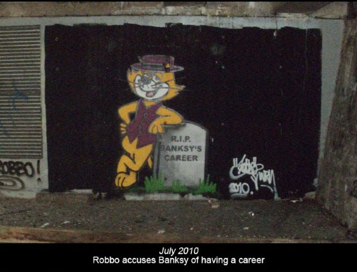 Banksy vs. Robbo (12 pics)