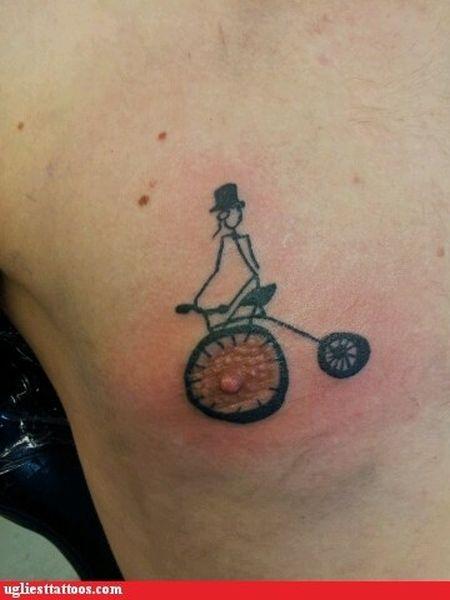 The Ugliest Tattoo. Part 2 (41 pics)