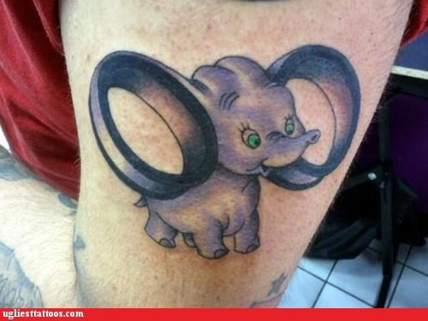 The Ugliest Tattoo. Part 2 (41 pics)