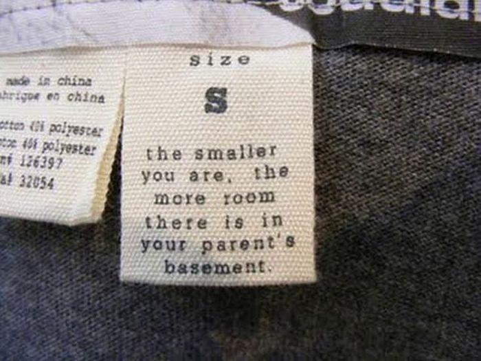 Funny Laundry Tags (16 pics)