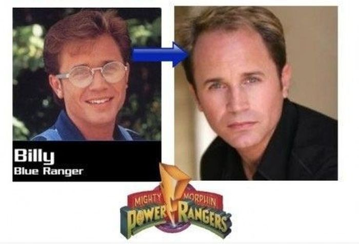 Power Rangers. Then and Now (6 pics)