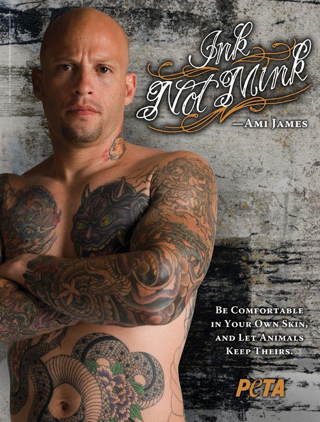 Ink, Not Mink (17 pics)