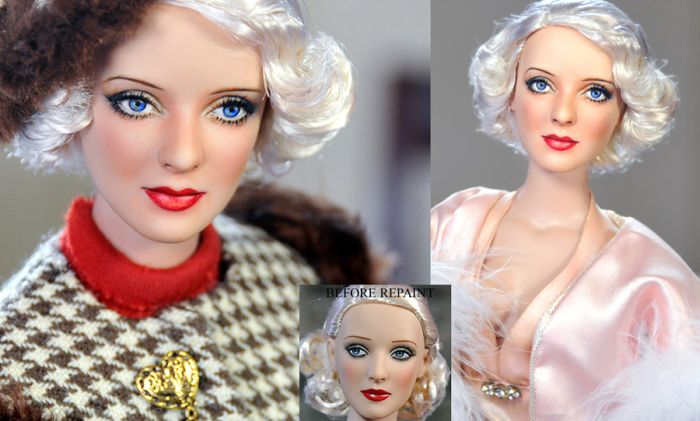 Repainted Celebrity Dolls (35 pics)