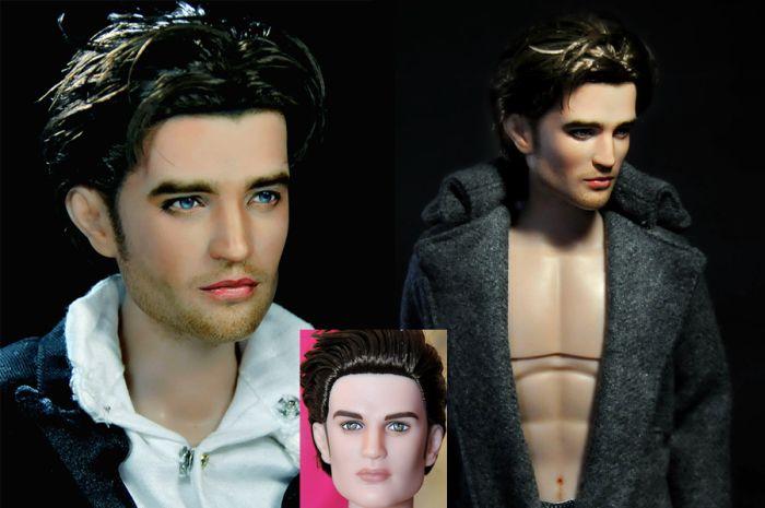 Repainted Celebrity Dolls (35 pics)