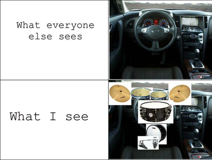 Normal People vs. Me (12 pics)