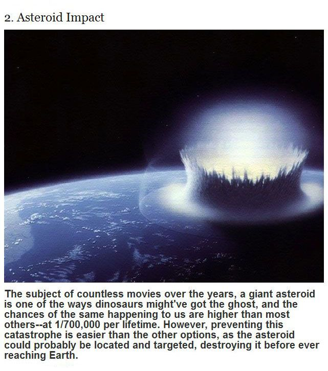 Ways The World Will Probably End (10 pics)