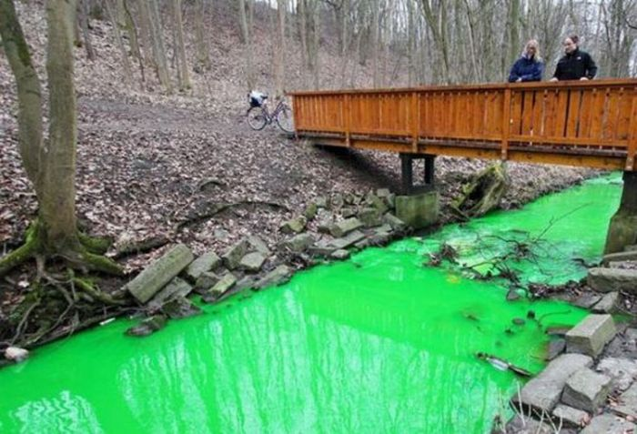 Green River in Goettingen, Germany (6 pics)