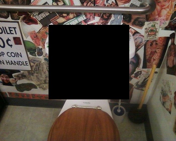 Put The Seat Down (2 pics)