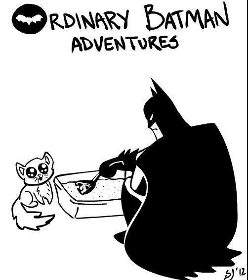 Ordinary Batman Adventures (5 gifs)
